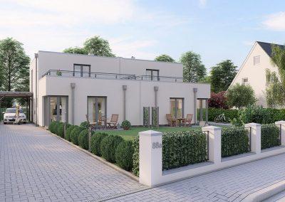 Zweifamilienhaus mit Garten
